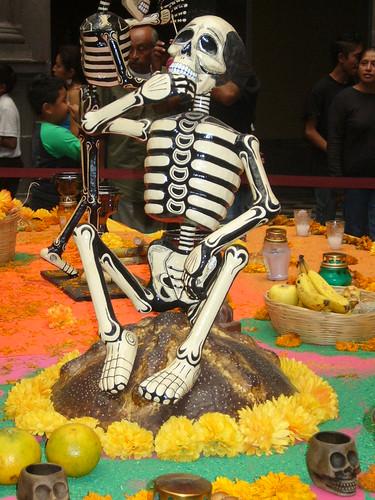 Día de muertos en Puebla