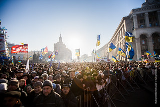 Anti-government protests in Kiev | by snamess