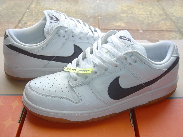 outlet store f0054 7b18b Nike Dunk Low Pro ND - White/ Cinder (JD Sports exclusive ...