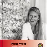 paige west baseball card (front) (2009, digital file, dimensions variable)