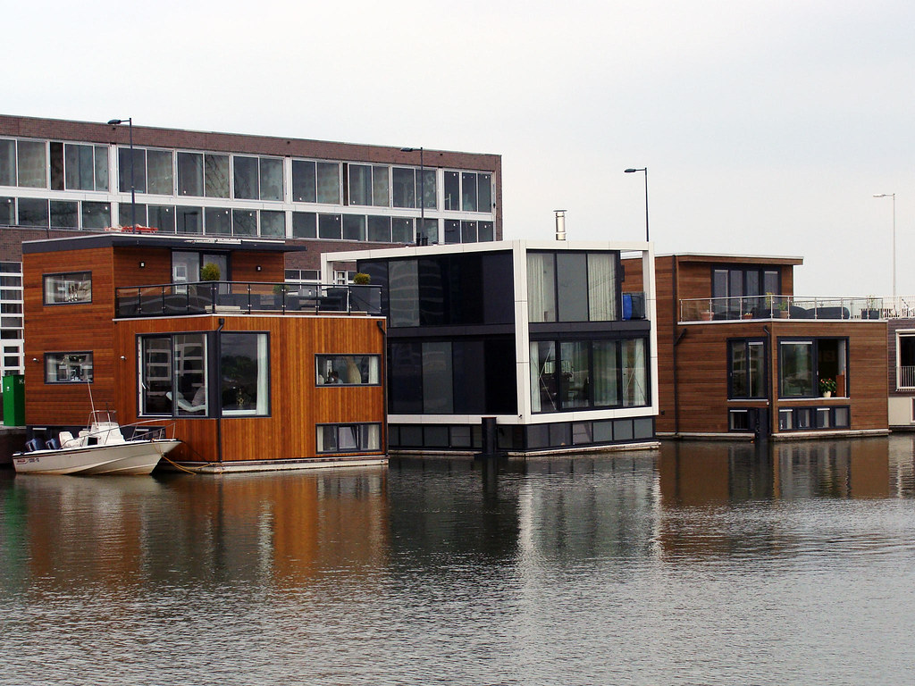 Floating houses, Steigereiland