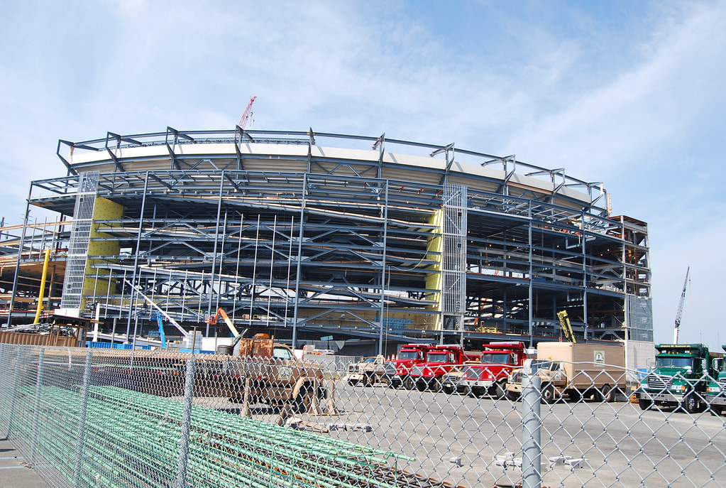 MetLife Stadium (under construction 2008)