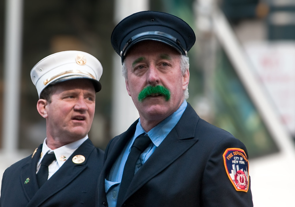 Green Mustache - St Patty's Day NYC | Bob Jagendorf | Flickr
