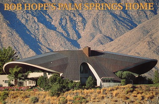 Bob Hope's Palm Springs Home postcard | by Smaddy
