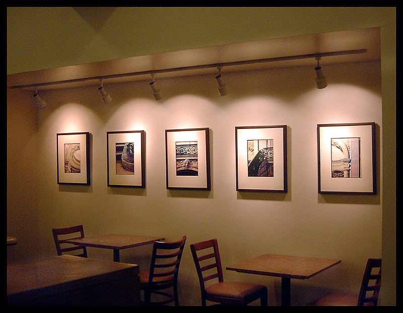 San Francisco Bay Club's Court Cafe