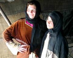 Bedouin Camp, Sisters & Daughters, Syrian Desert