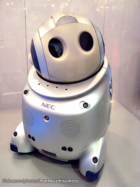 PaPeRo (Partner-type Personal Robot)