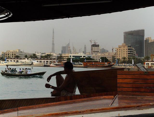 Dubai in the early morning 06:15
