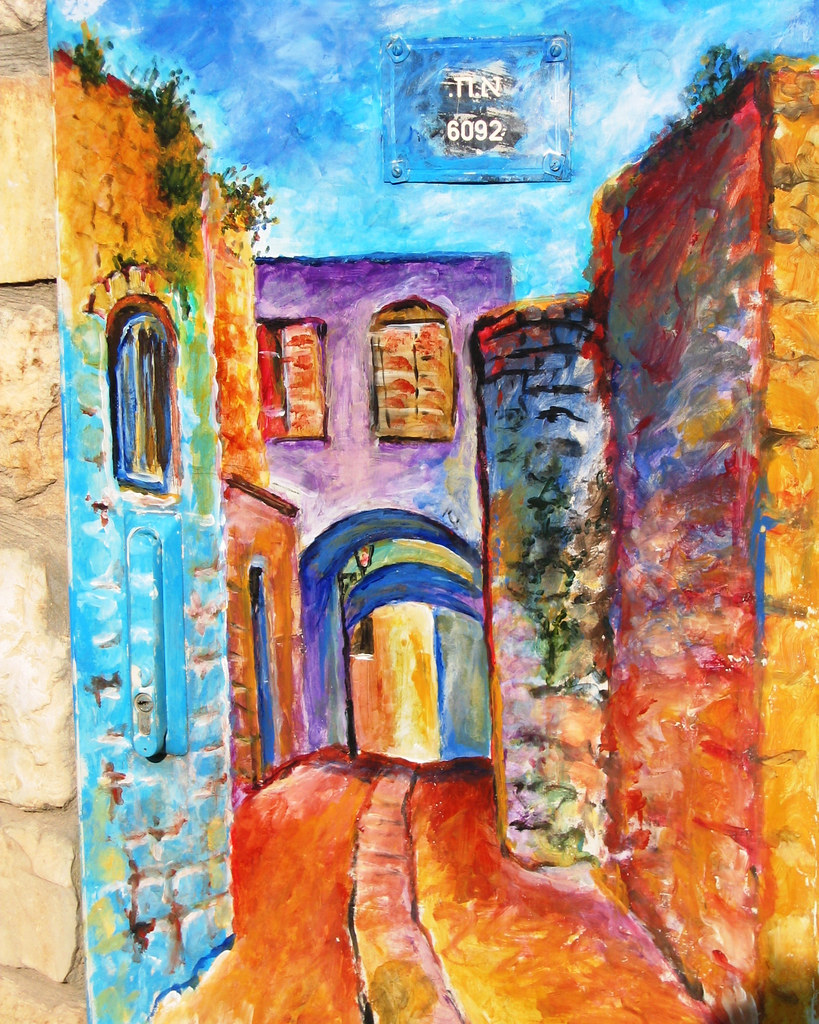 israeli fuse box | this is a painting on a fuse box in safed… | flickr  flickr