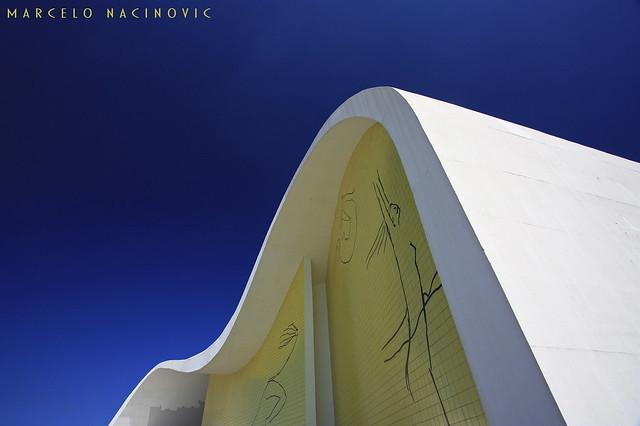 Teatro Popular Oscar Niemeyer em Niterói