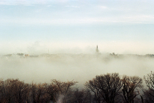 film fog 35mm river washingtondc pentax kodak georgetown potomac mesuper uc400