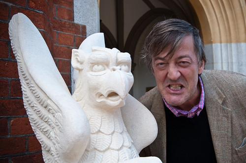 Stephen Fry visits Bletchley Park | by Documentally