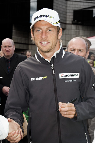Jenson Button Up Close | by Luke Hayfield Photography