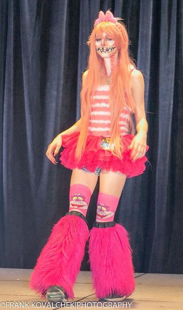 CosPlayer in the fashion show