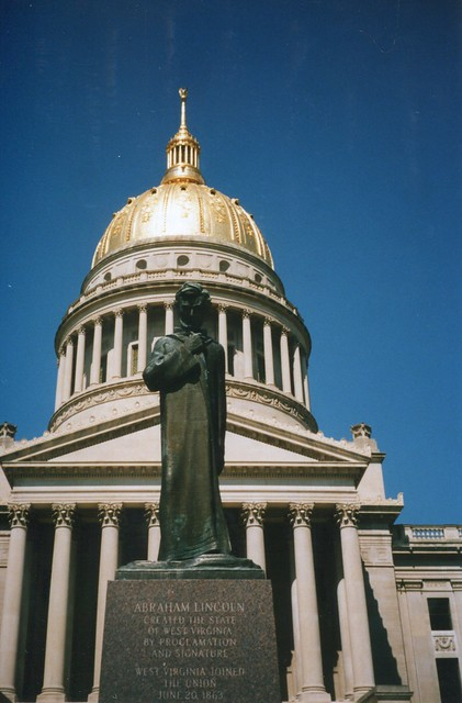 West Virginia State Capitol ~ Charleston West Virginia ~ Facade ~  Historical Building
