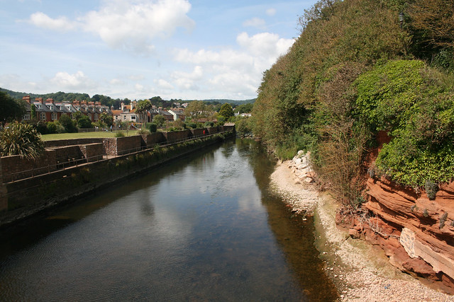 The River Sid, Sidmouth