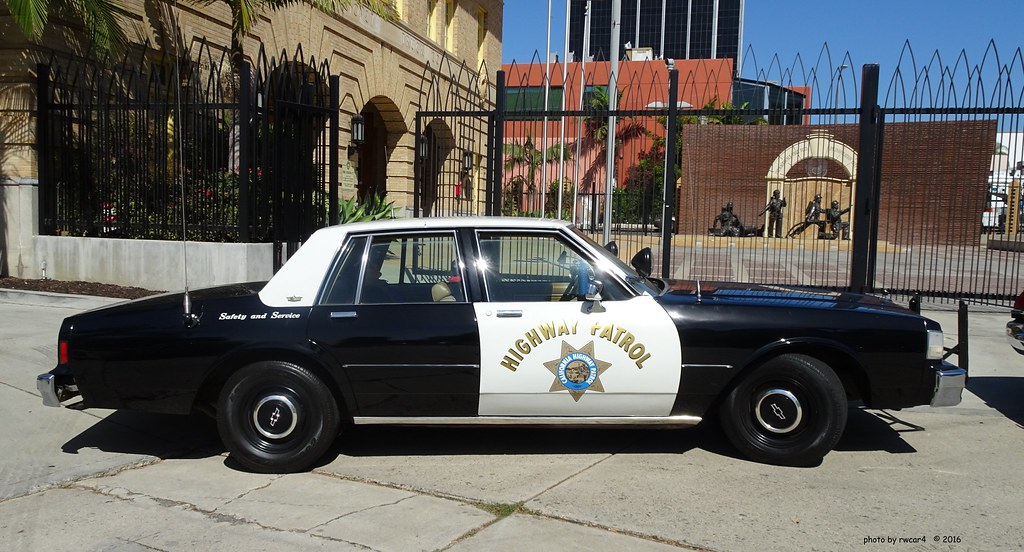 California Highway Patrol 1987 Chevrolet Caprice Restore