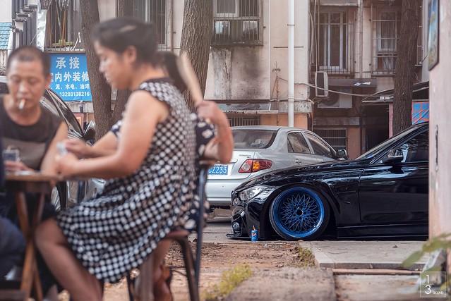 「KSSGRD」BMW F30+SSR MESH+ACCUAIR