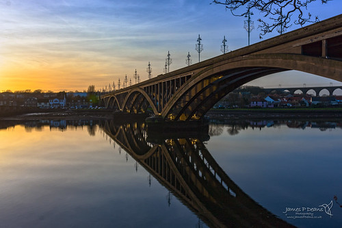 digital downloads for licence timeofday england sunset gb reflection berwickupontweed prints sale roadbridge unitedkingdom bridge northumberland man who has everything britain river arch roads history landscape rivertweed europe neengland uk james p deans photography digitaldownloadsforlicence jamespdeansphotography printsforsale forthemanwhohaseverything