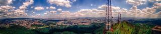 Vista da antena do Pico do Jaraguá