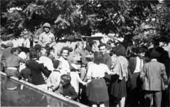 Libération d'Orgelet par les troupes américaines en 1944