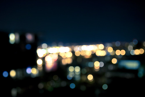 From Up Here... (Bokeh Version) | by Jarrod C.