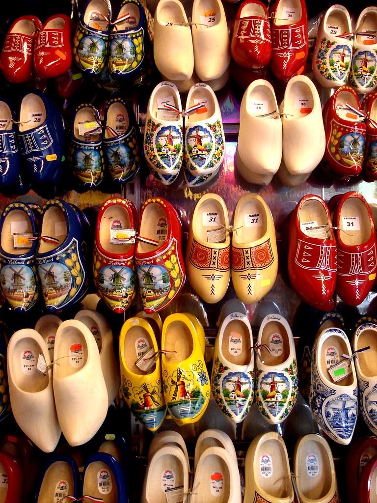 Amsterdam Wooden Shoes Britt Q Flickr