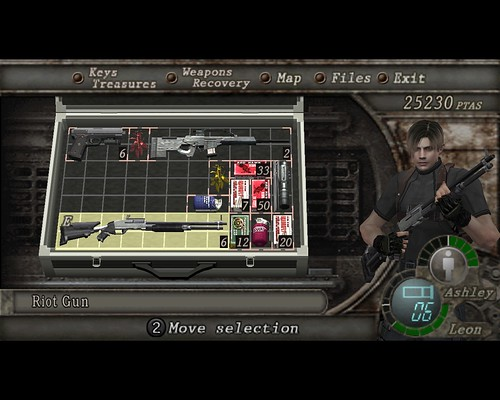 Image result for resident evil 4 menu