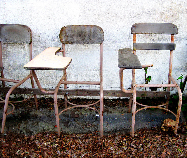 The places we used to sit
