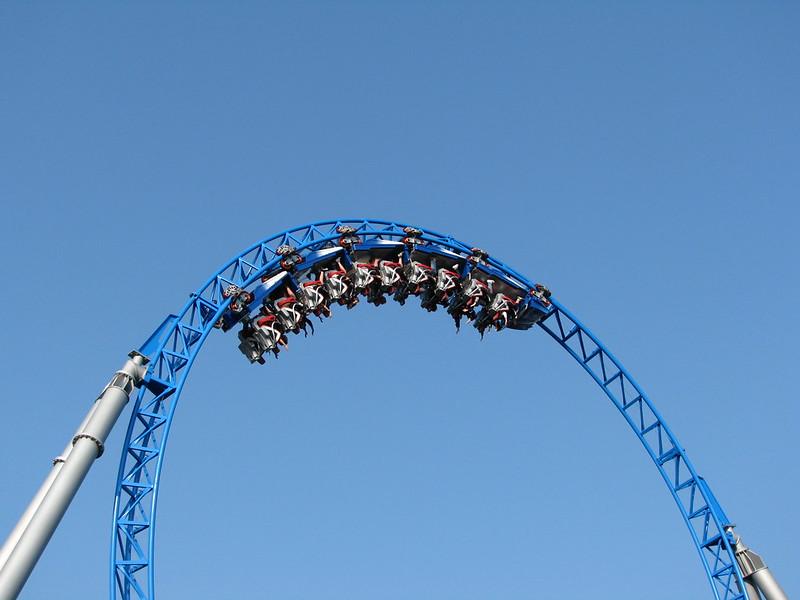 Roller coaster Blue Fire Europa  Park