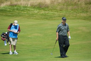 Tom Watson and caddy, Turnberry | by StartAgain