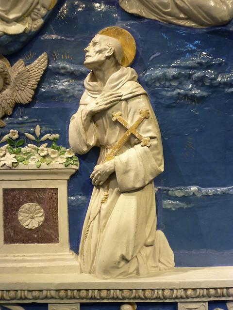 Andrea della Robbia - Mary's Assumption or