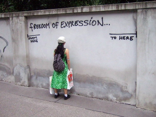 Freedom of expression | by Harald Groven