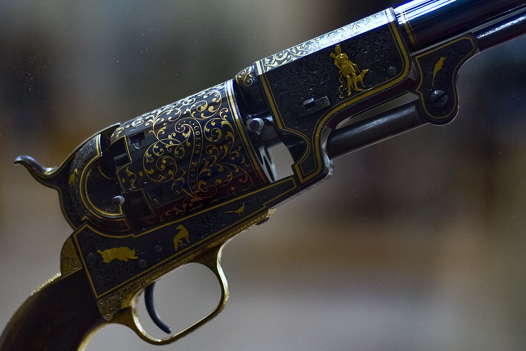 Colt Third Model Dragoon Percussion Revolver | The Metropoli