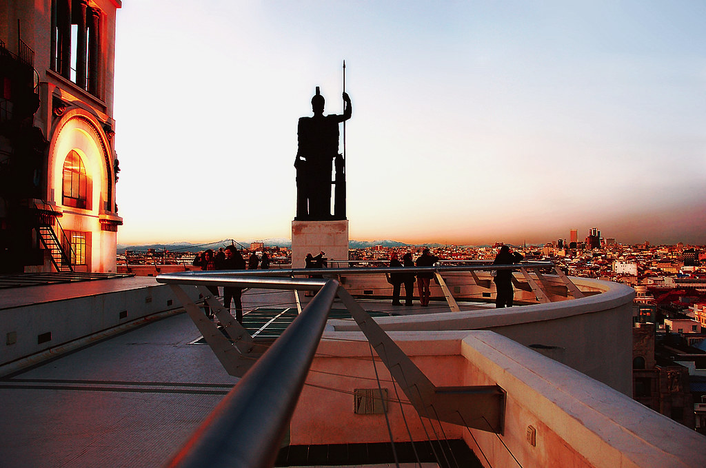 9935madrid Azotea Circulo De Bellas Artes Jose Javier