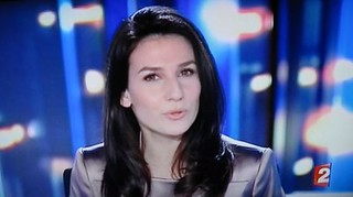 LA BELLE FEMME NEWS PRESENTER ON FRANCE2. | by RubyGoes