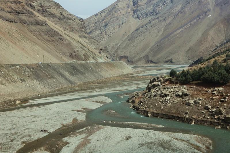 Karaj River, Iran