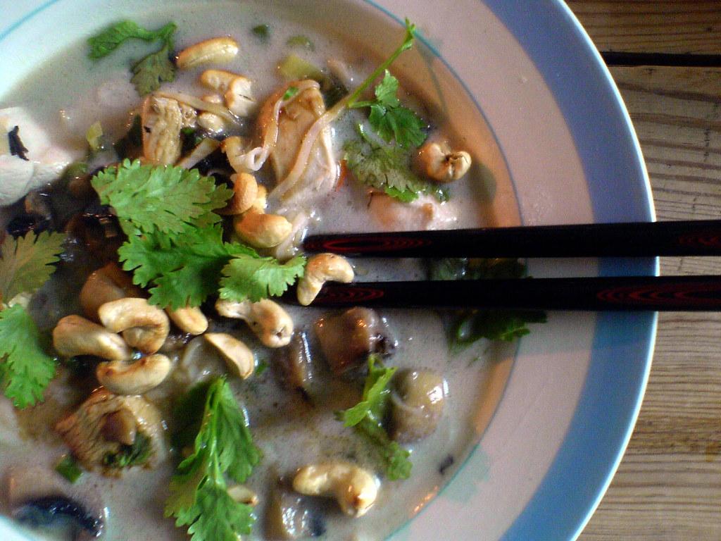 Suppe Med Kylling Og Kokos Cyclonebill Flickr