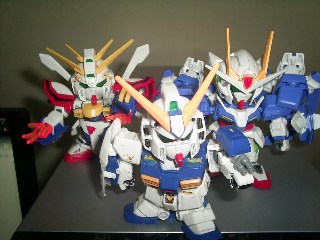 Sd Gundam Nt 1 Sd God Gundam Sd Gundam 00 Raiser Flickr