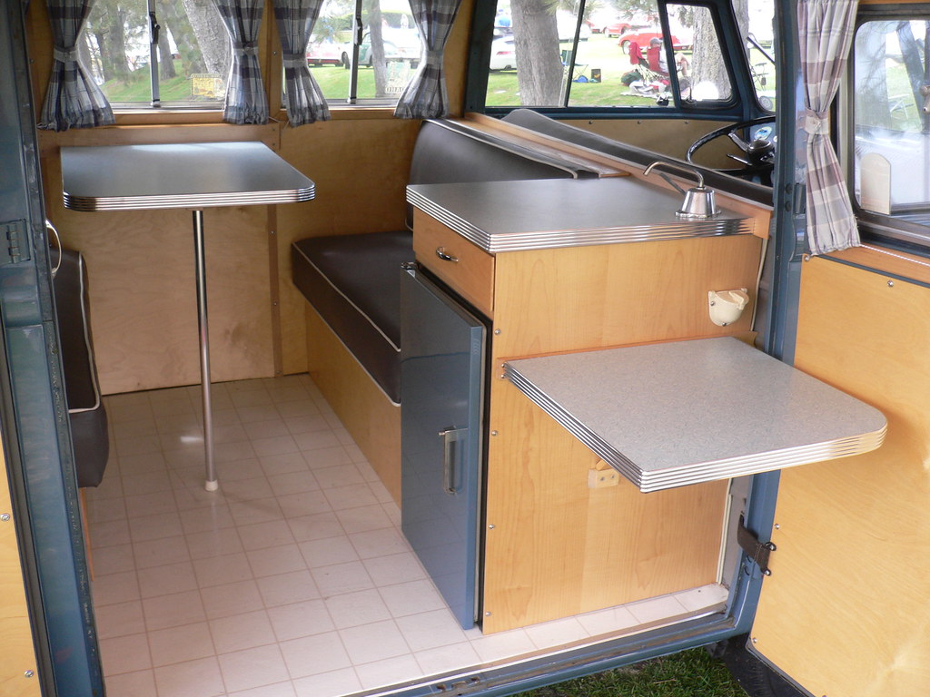 ... VW Bus   Vintage Interior | By Chimay Bleue