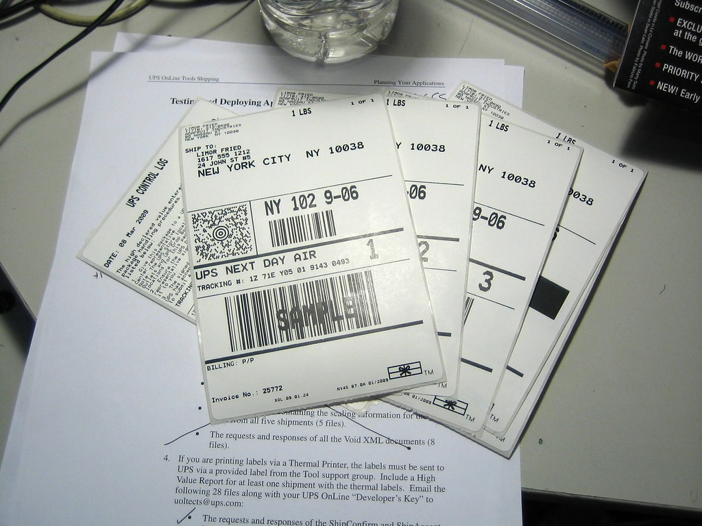 image of barcode labels