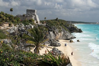 Classic view of El Castillo and the beach at Tulum, Mexico | by Alaskan Dude