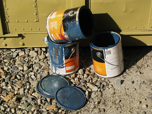 Paint cans | by DBduo Photography