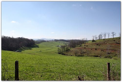 sky landscape virginia pasture scottcounty