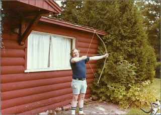 My uncle and the bow & arrow