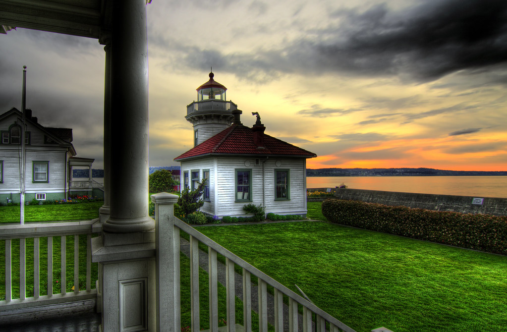 The Mukilteo Lighthouse by Justin Kraemer Photography