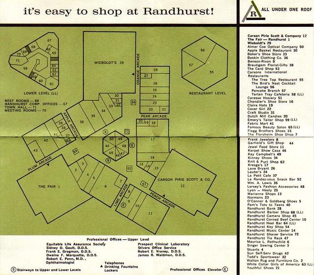 Randhurst - Map