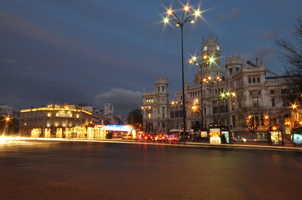 Plaza De Cibeles Cibeles Square Palacio De Comunicacio