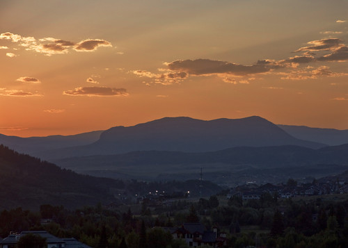 sunset summer colorado steamboat nox steamboatsprings sleepinggiant yampavalley