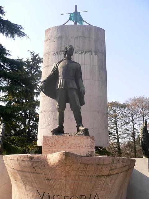 Vicenza - La statua dell'esploratore